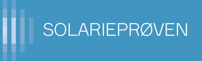 logo: solariprøven
